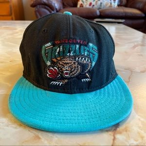 Vintage Vancouver Grizzlies Mitchell & Ness hat